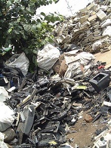 E-Waste in the streets