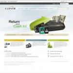 Clover unveil new website