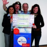Embatex raise €87,821 for RED NOSES International