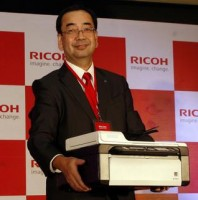 Tetsuya Takano, Managing Director and Chief Executive Officer of Ricoh India [Shiv Kumar Pushpakar]