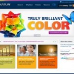 Katun receives award for website