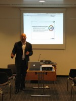 MSE's Luke Goldberg addressing the seminar audience