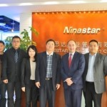 Ninestar visited by Hong Kong government investment officer