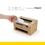 Printer made from recycled cardboard