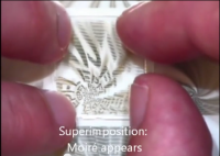 An anti-counterfeiting hologram