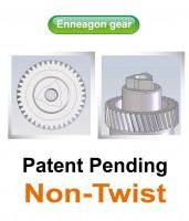 GPI's Enneagon gear