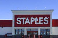 Staples store front slider