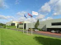 Ricoh's base in Telford, England