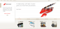 Static Control's global homepage