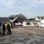 Tonerman suffers major fire