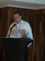 Static Control's Jason Doran speaking at Focus on Europe