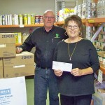 Cartridge recycler raises money for food banks