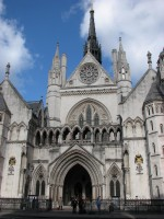 The Royal Courts of Justice, where the UK High Court is based