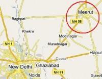 map_of_meerut