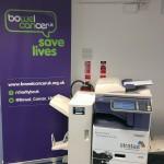 Toshiba MFP donated to Bowel Cancer UK