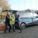 Van Klaveren helps out seal rescue charity
