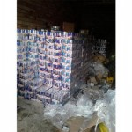 Stolen printer cartridges discovered