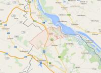 Location of Rajka, Hungary, near the Hungary-Austria-Slovakia border tripoint