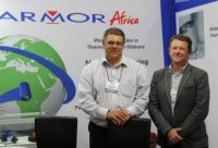 Andrew Fosbrook, Managing Director of Armor Africa, and Roland Pinz, General Manager of Armor Africa