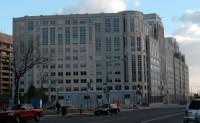 The US Immigration and Customs Enforcement building, Washington D.C.