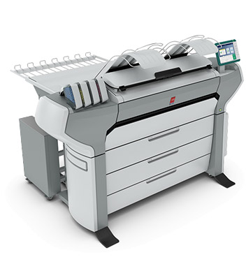 Canon Launches Signage Large Format Printers April 13 2015 The Oce ColorWave 700 Credit
