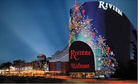 The now-demolished Riviera Hotel and Casino, home to the Splash bar