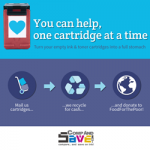 US company collects empty cartridges for poverty charity