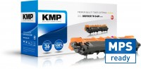 KMP continually complements the product portfolio with inkjet and toner cartridges developed and manufactured in-house. Products carrying the MPS button have been perfectly suited for managed print services
