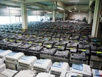 printers in warehouse