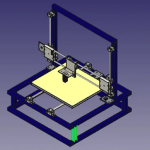 3D printers designed and made from 2D printers