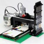 Designers create LEGO printer