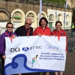 DCi staff complete charity bike ride