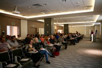Attendees at the Freckles conference