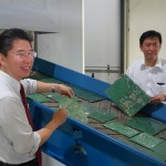 Taiwanese company turns e-waste into gold