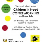 UK Cartridge World franchise holds charity coffee morning