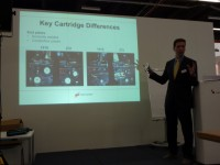 Static Control's Tom Claessens gives his tech talk on new HP Inc cartridges