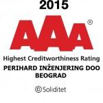Perihard gains credit rating certification