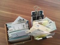 David Connett's business cards