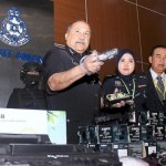 Malaysian syndicates hide drugs in cartridges