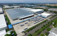 An image of the new Epson factory in Indonesia