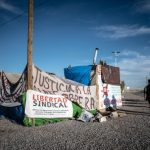 Mexican workers take down protest camp