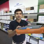 Canadian businessman opens cartridge store
