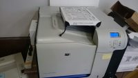 The toner catcher on top of a printer