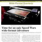 Newest wide-format quarterly launched
