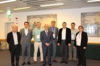 Philippe Guenin; Gerwald van der Gijp; Jorgen Wonisch; Christian Wernhart; Vincent van Dijk; Joachim Kretschmer; Javier Martinez; and Stefanie Unland