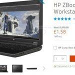 HP Inc in laptop pricing error