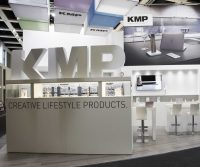 KMP's booth at the IFA 2016 event