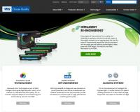 A screenshot of MSE's new website