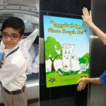 Dubai's youngest recycler