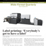 Latest wide-format quarterly launched